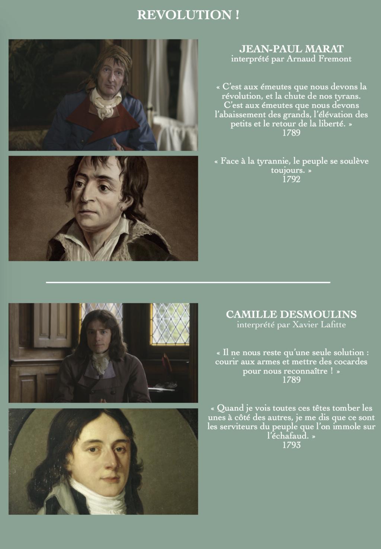 Révolution ! Docu-fiction en deux parties diffusé sur France 2 Revolu10