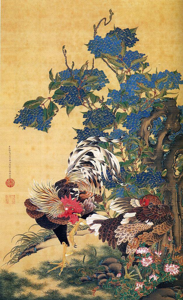 Exposition : Jakuchū (1716-1800), le Royaume coloré des êtres vivants Rooste10