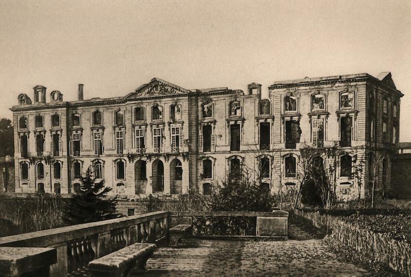 Meudon - Le château de Meudon Ruines10