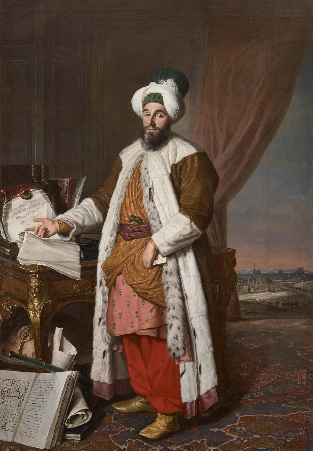 Yirmisekiz-Mehmed Çelebi Efendi - Ambassadeur de la Sublime Porte en visite en France de 1720 à 1721 Saiid_10
