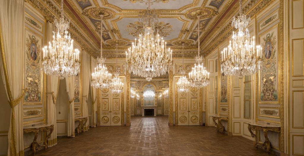 Le Garde Meuble Royal, actuel Hôtel de la Marine, à Paris - Page 3 Salon-12