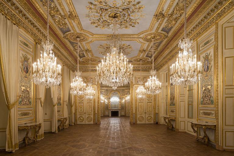 Le Garde Meuble Royal, actuel Hôtel de la Marine, à Paris - Page 3 Salons10