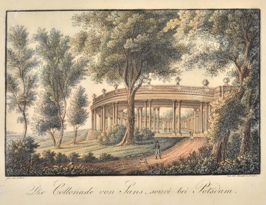 Le palais et le parc de Sans-souci, ou Sanssouci, à Potsdam  Sans_s10