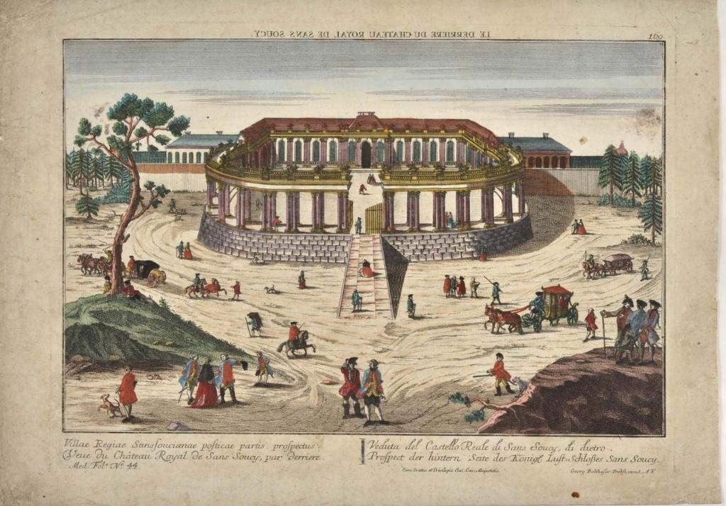 Le palais et le parc de Sans-souci, ou Sanssouci, à Potsdam  Sans_s12