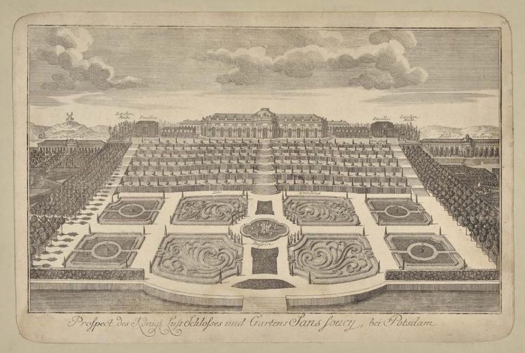 Le palais et le parc de Sans-souci, ou Sanssouci, à Potsdam  Sans_s13