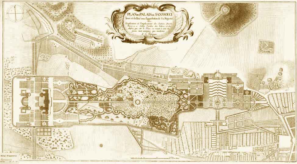 Le palais et le parc de Sans-souci, ou Sanssouci, à Potsdam  Sansso13