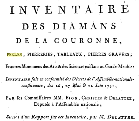 Quatre perles parmi les plus célèbres au monde : La Régente (Perle Napoléon), La Pélégrina, La Pérégrina, La perle de Marie-Antoinette - Page 2 Screen10