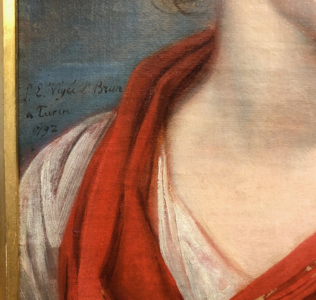 Signature d'Elisabeth Vigée Le Brun Signat10