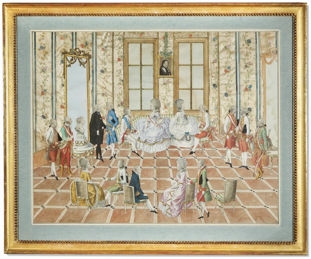 Le voyage en Europe du comte et de la comtesse du Nord : le tsarévitch Paul et son épouse. - Page 2 Silkwo10