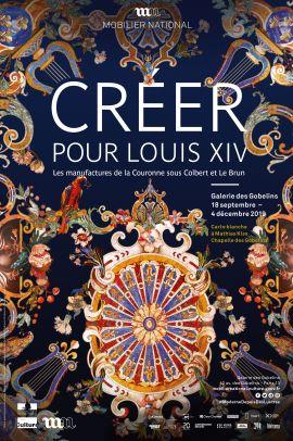 Exposition : Créer pour Louis XIV, les manufactures de la Couronne sous Colbert et Le Brun - Galerie des Gobelins Slideb10