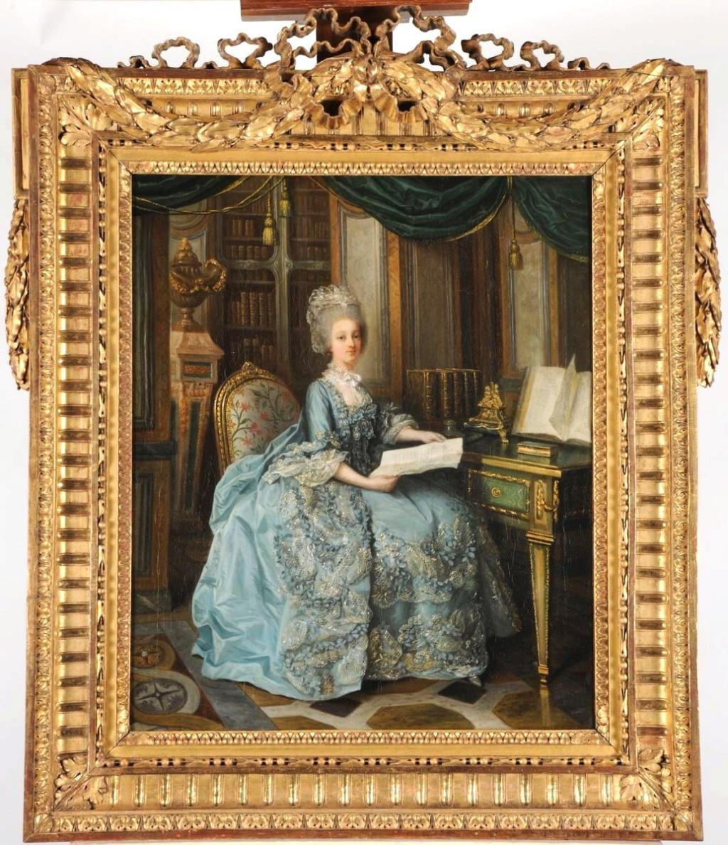 Lié-Louis Périn-Salbreux : Portrait de Marie-Antoinette ou de Madame Sophie ? Sophie13