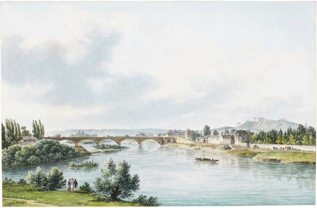 Le pont de Neuilly au XVIIIe siècle Sotheb10