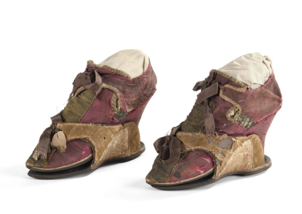 Chaussures et souliers du XVIIIe siècle Soulie11