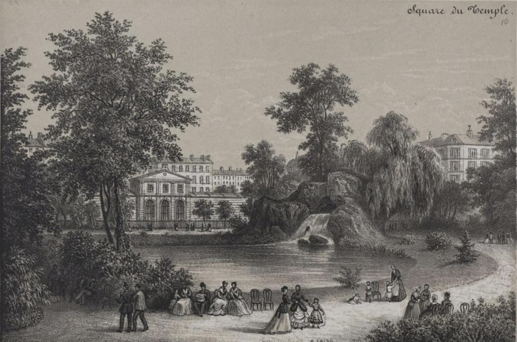 L'enclos du Temple au XVIIIe siècle - Page 3 Square13