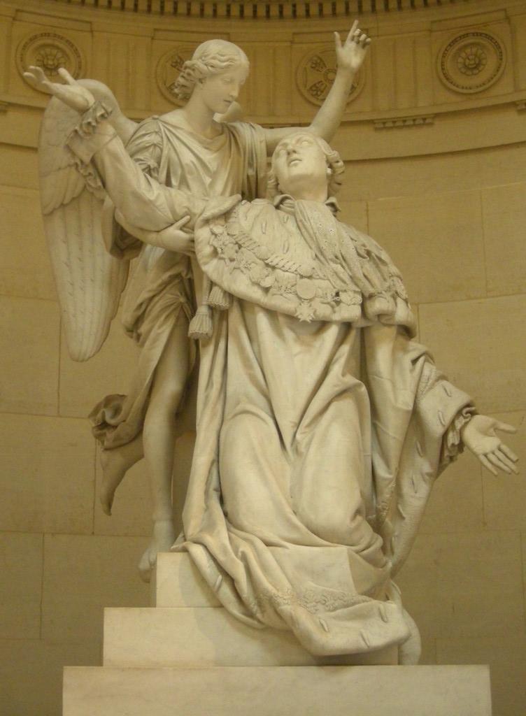 La Chapelle Expiatoire du square Louis XVI, à Paris Statue14
