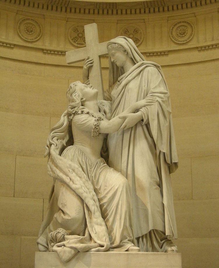 La Chapelle Expiatoire du square Louis XVI, à Paris Statue15