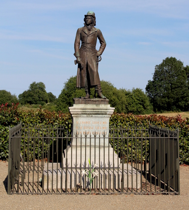 La chouannerie et les guerres de Vendée Statue16