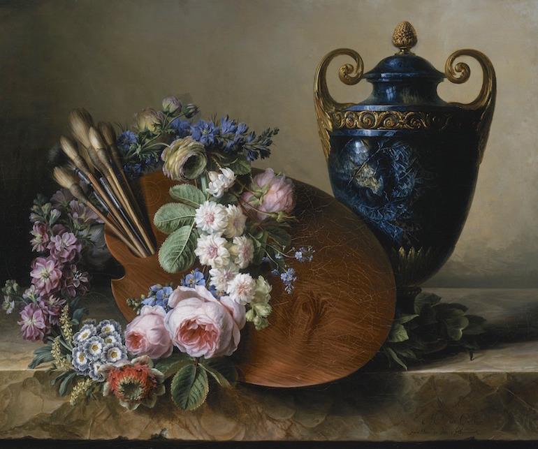 La peinture des fleurs : Sophie de Fuligny-Damas, marquise de Grollier Still_10