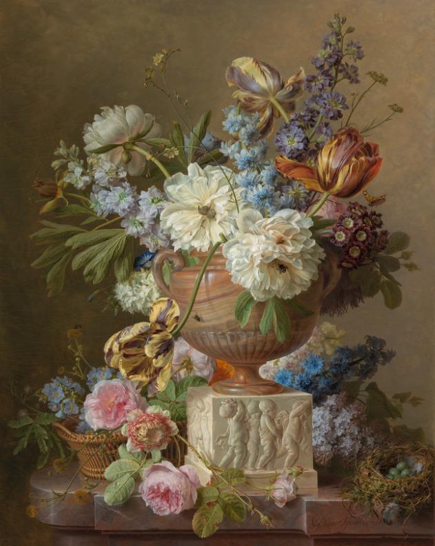 La peinture des fleurs : Sophie de Fuligny-Damas, marquise de Grollier Still_11