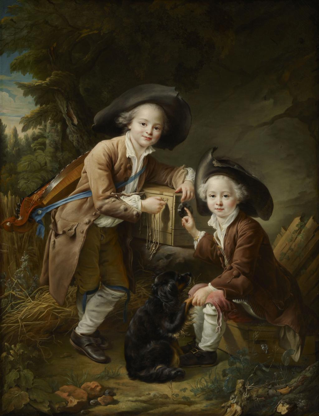 Les Drouais, artistes peintres de père en fils : Jean, Hubert, François-Hubert et Jean-Germain Drouais The_co10