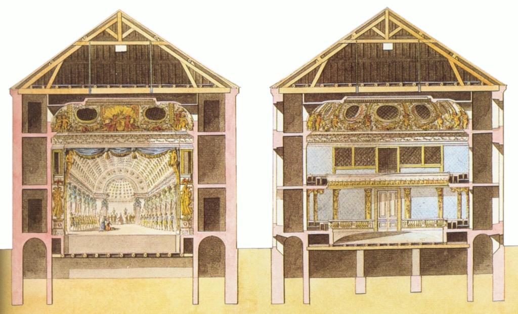 Le Théâtre de la reine (Trianon) : de la Révolution à la fin du XIXe siècle Theaaa11