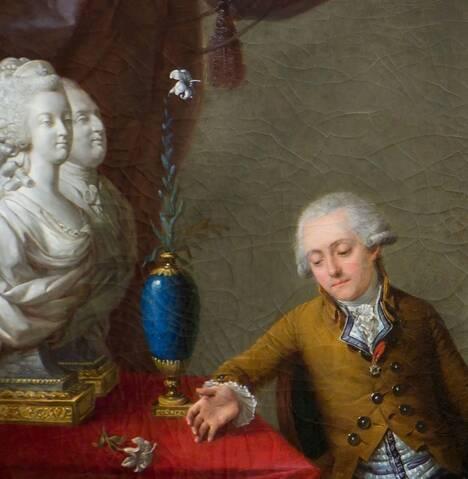 Le comte Pierre-Jean de Bourcet