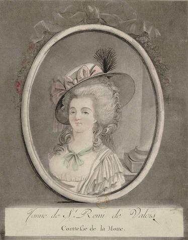 La comtesse Jeanne de La Motte
