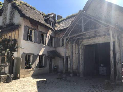 La ferme du hameau du Petit Trianon