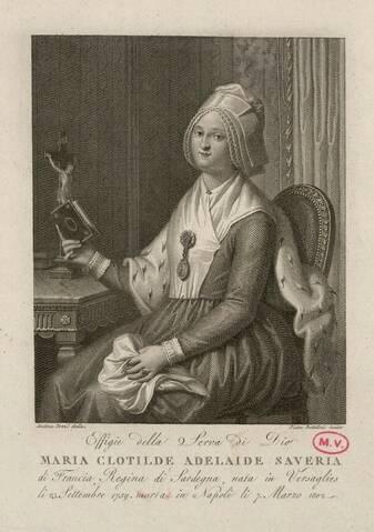 """La princesse Clotilde de France, dite Madame Clotilde, """"Gros Madame"""""""