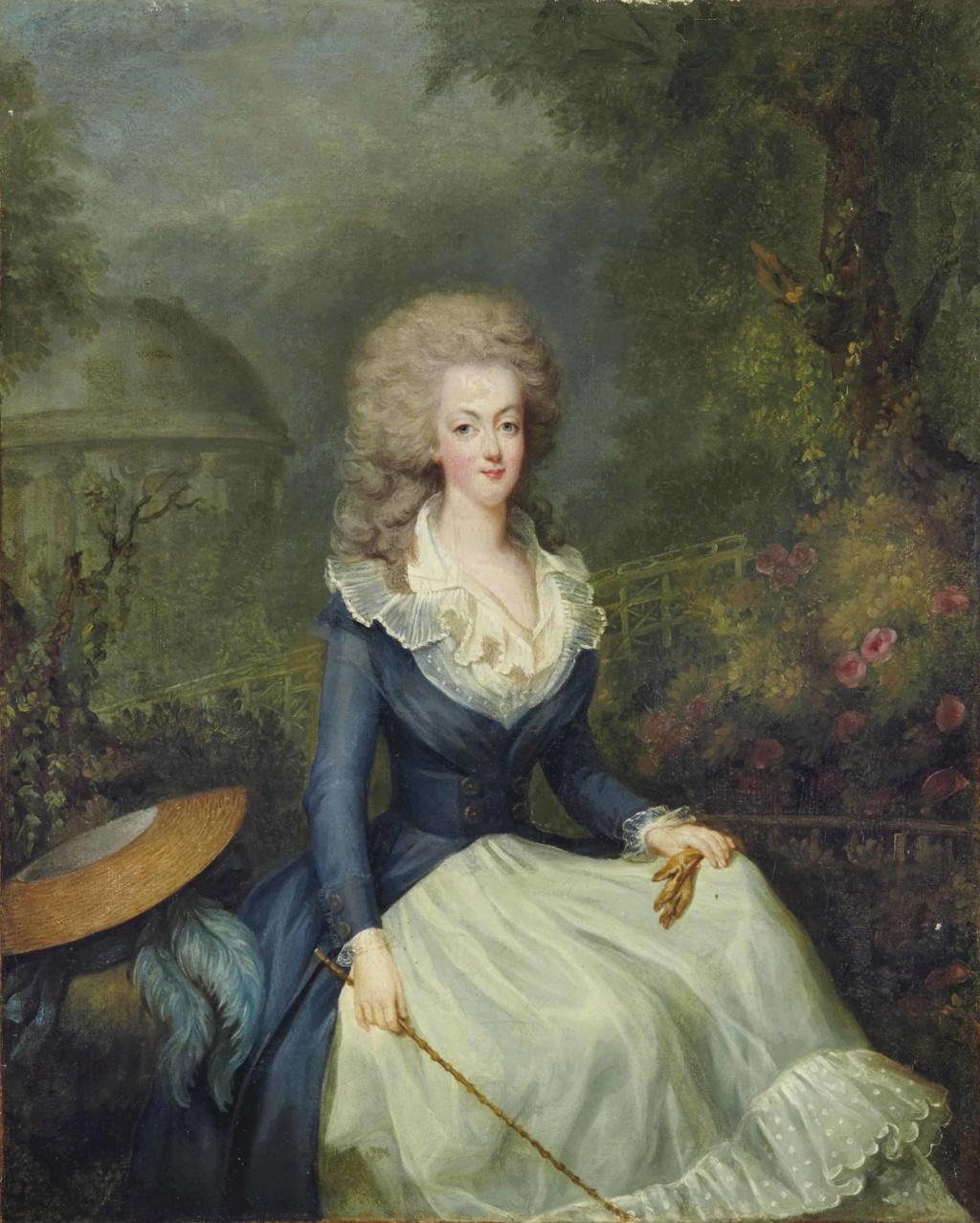 Portraits de la reine Marie-Antoinette à Trianon  Triano14