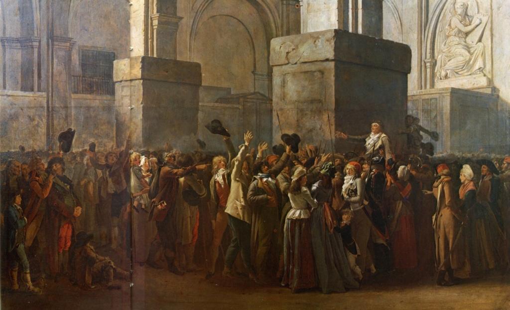 Le palais de Justice de L'île de la Cité, Paris, et la salle du Tribunal révolutionnaire Triomp10