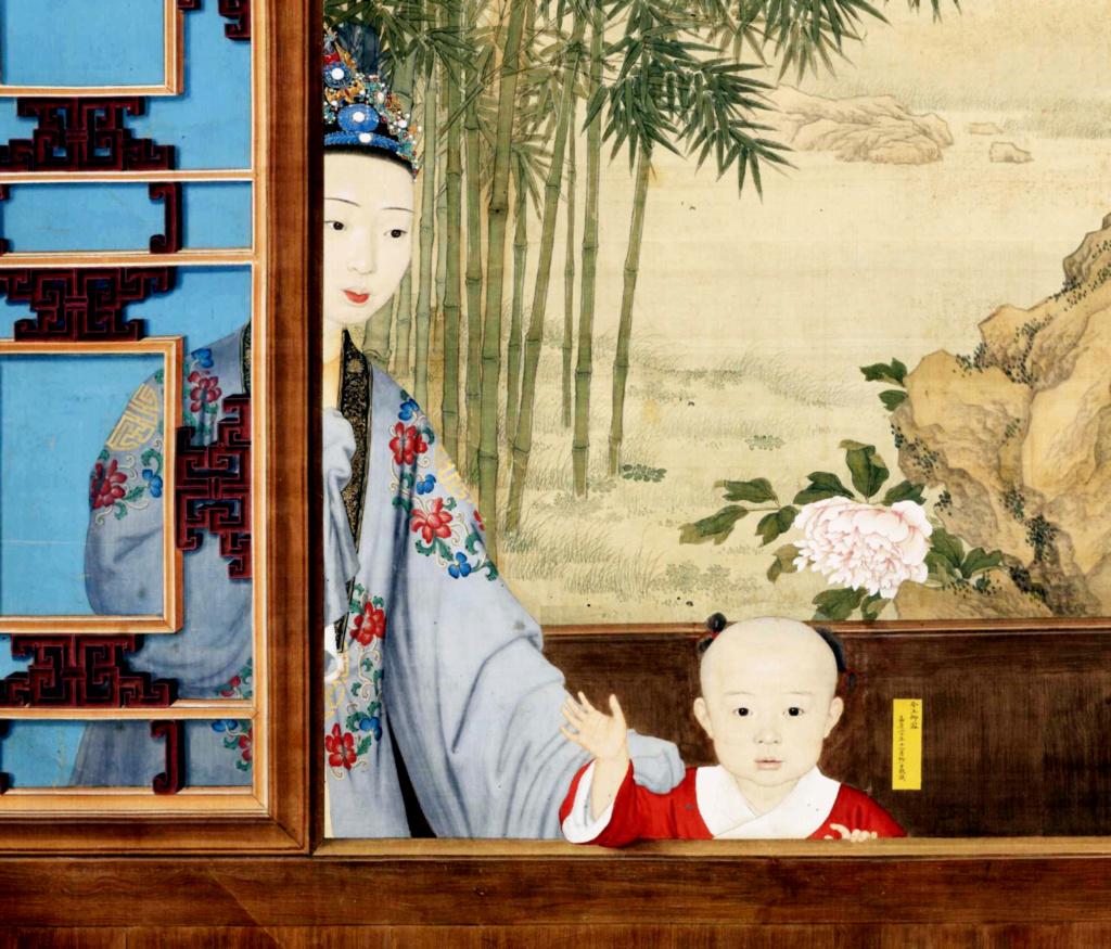 Impératrices, épouses et concubines de l'empereur de Chine (dynastie Qing) dans la Cité Interdite Uaiauo10