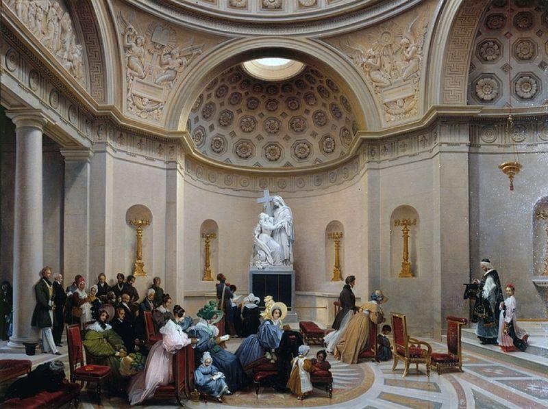 La Chapelle Expiatoire du square Louis XVI, à Paris Une_me10