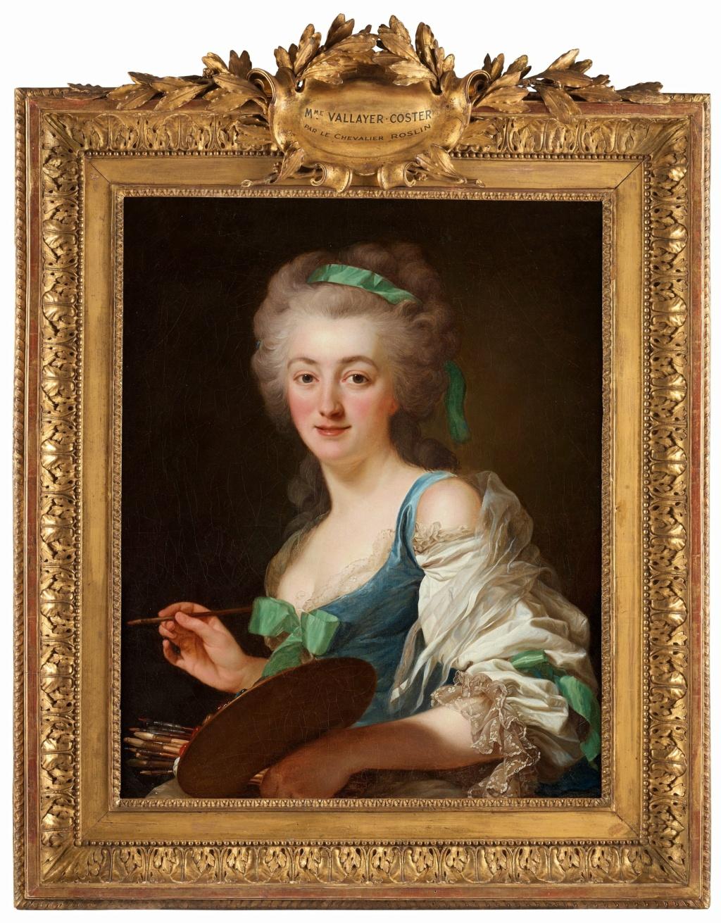 Anne Vallayer-Coster, chef du cabinet de peinture de Marie-Antoinette Vallay11