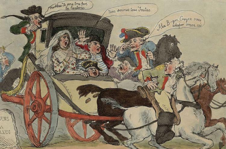 Varennes : Jean-Baptiste Drouet a-t-il reconnu Louis XVI grâce au profil du roi gravé sur une pièce de monnaie ?  Varenn11