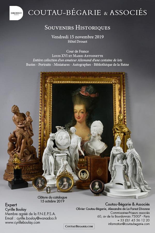 Marie-Antoinette : sujets allégoriques en porcelaine de la Courtine, Manufacture de Locré (Jean-Baptiste) Vente_11
