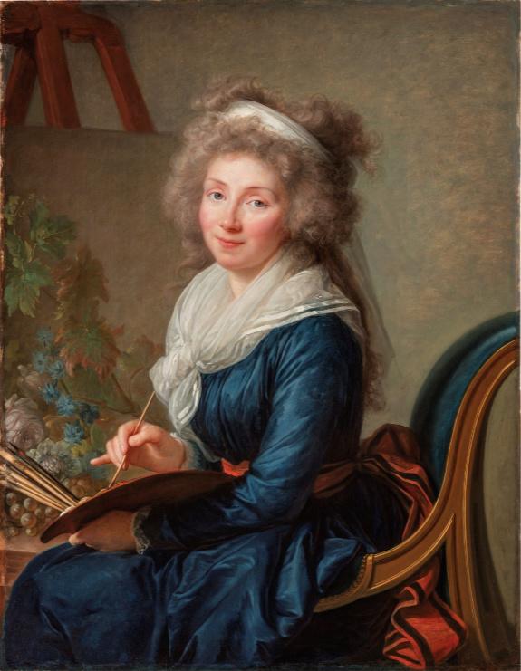 La peinture des fleurs : Sophie de Fuligny-Damas, marquise de Grollier Vigeae12