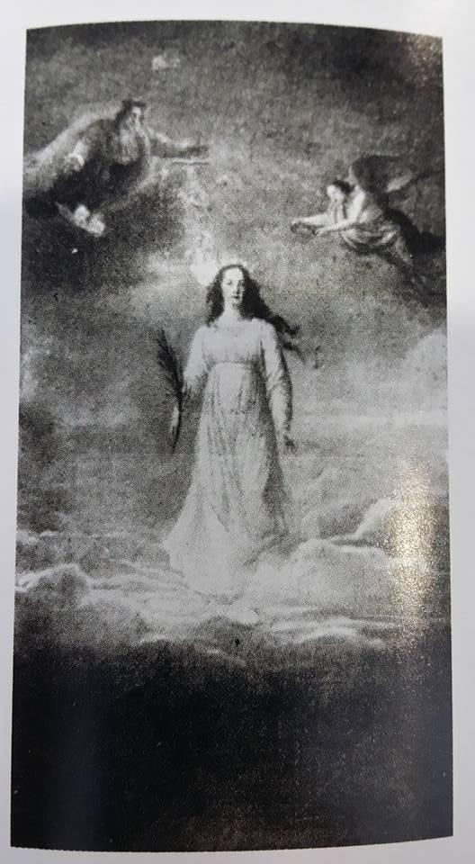 Portraits posthumes de Marie-Antoinette, par Mme Vigée-Lebrun  Vigeae19