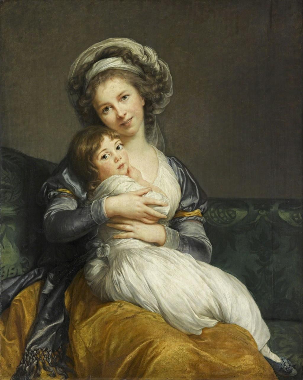 Les autoportraits de Mme Vigée Le Brun - Page 3 Vigeae24