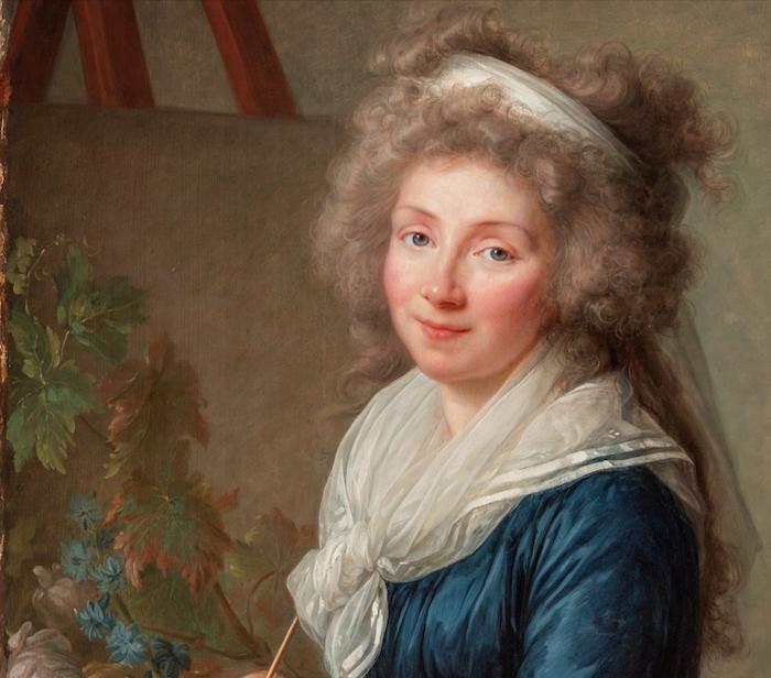 La peinture des fleurs : Sophie de Fuligny-Damas, marquise de Grollier Vigee_11