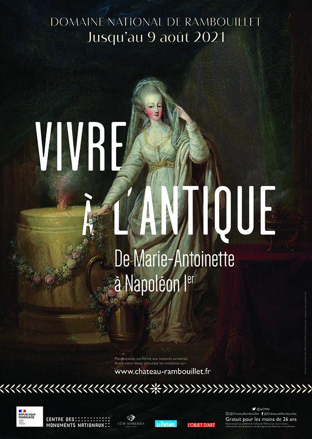 """Exposition """" Vivre à l'antique, de Marie-Antoinette à Napoléon Ier """" - Château de Rambouillet Vivrea10"""