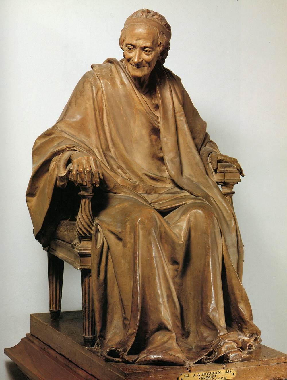 Jean-Antoine Houdon, le sculpteur des Lumières Voltai10