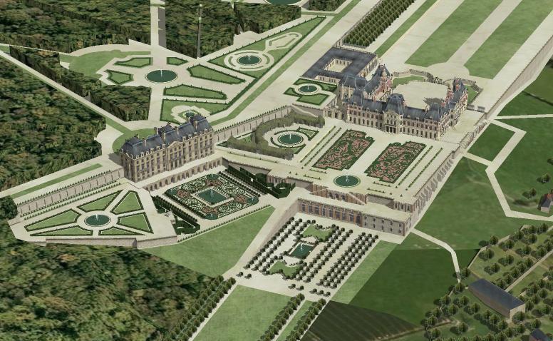 Meudon - Le château de Meudon Vue-ge10
