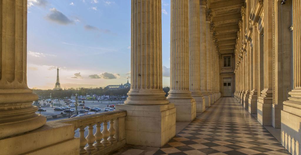 Le Garde Meuble Royal, actuel Hôtel de la Marine, à Paris - Page 3 Vue-lo10