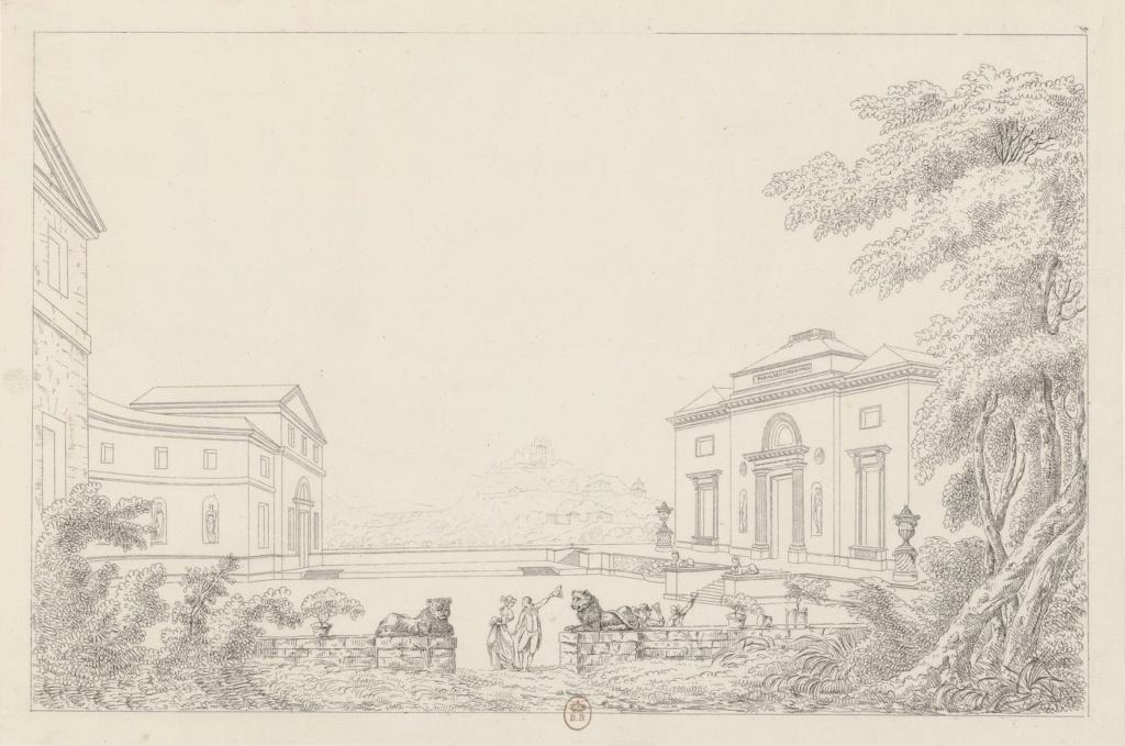 """Le château de Bagatelle : la """" folie """" du comte d'Artois - Page 3 Vue_d_10"""