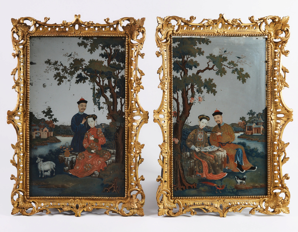 La peinture sous / sur verre chinoise au XVIIIe siècle Waddin10