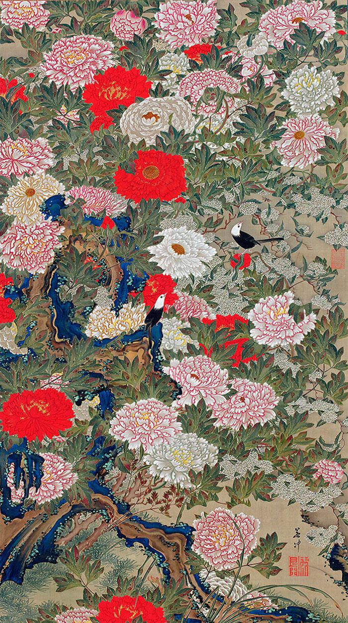 Exposition : Jakuchū (1716-1800), le Royaume coloré des êtres vivants Xxii_p10