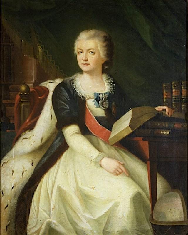 La princesse Daschkoff (Dachkov), dame d'honneur de Catherine II Yekate10