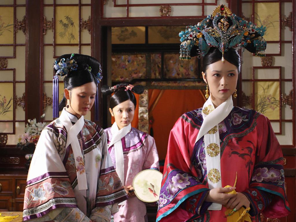 Série : The Legend of Zhen Huan (Empresses in the Palace), les atours de l'aristocratie chinoise au XVIIIe siècle Zhen-h11