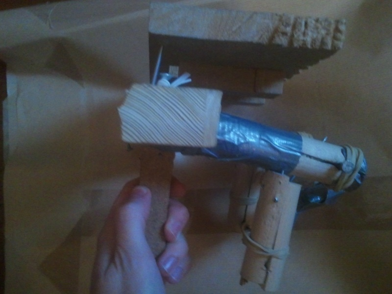 Truly automatic crossbow, design 1 2013-110